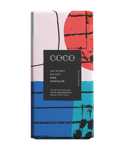 Image: COCO Isle of Skye Sea Salt Dark Chocolate Bar, 80g
