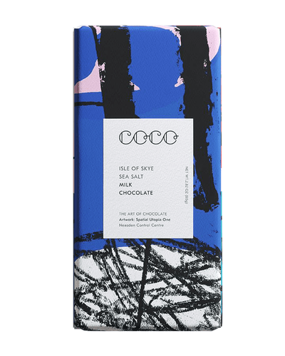 Image: COCO Isle of Skye Sea Salt Milk Chocolate Bar, 80g