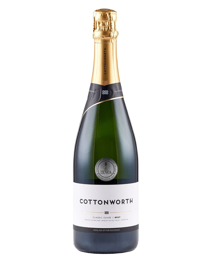 Cottonworth Classic Cuvee English Sparkling Wine, 75 cl