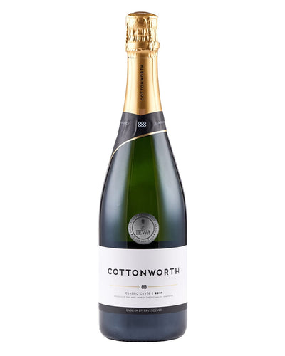 Image: Cottonworth Classic Cuvee English Sparkling Wine, 75 cl