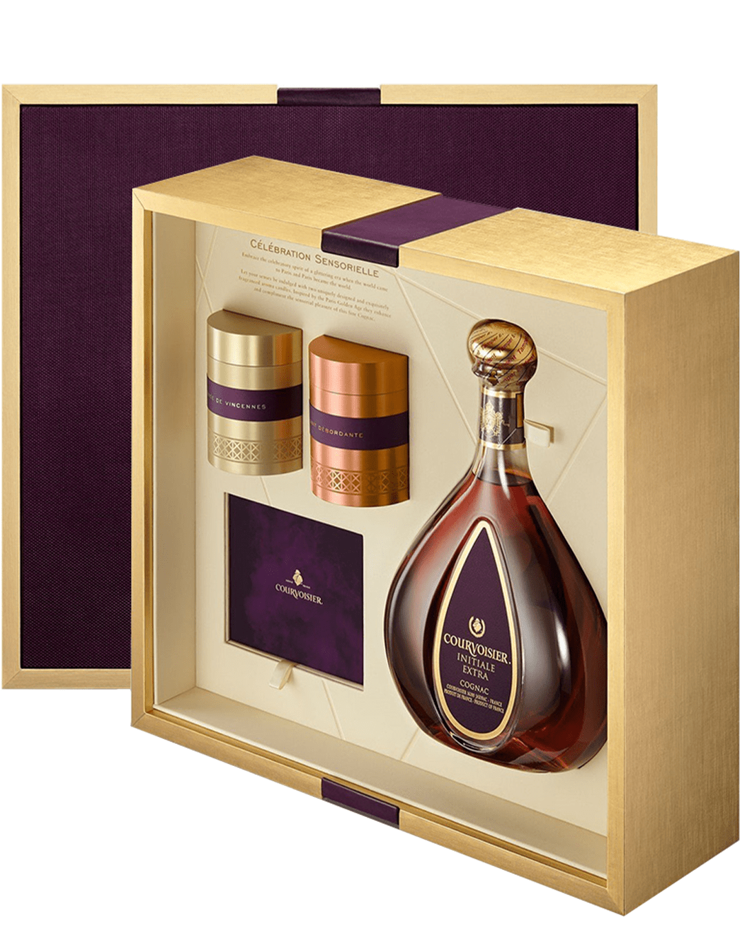 Courvoisier Celebration Sensorielle XO, 70 cl