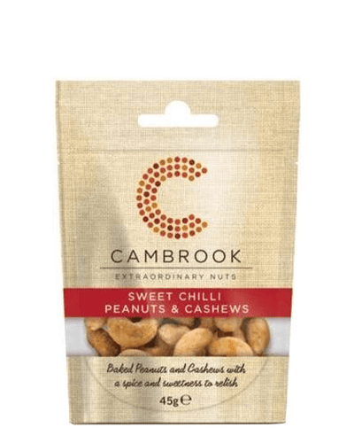 Image: Cambrook Sweet Chilli Peanuts & Cashews, 45 g