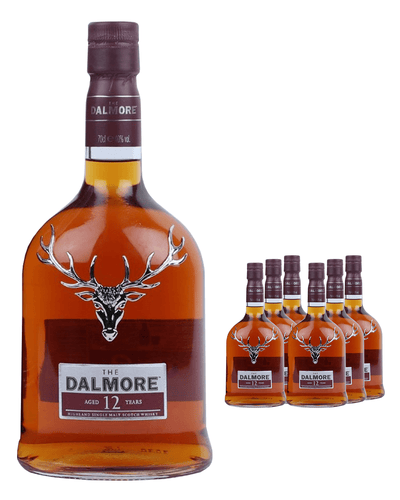 Image: Dalmore 12 Year Old Whisky (Case of 6 x 70 cl Bottles)
