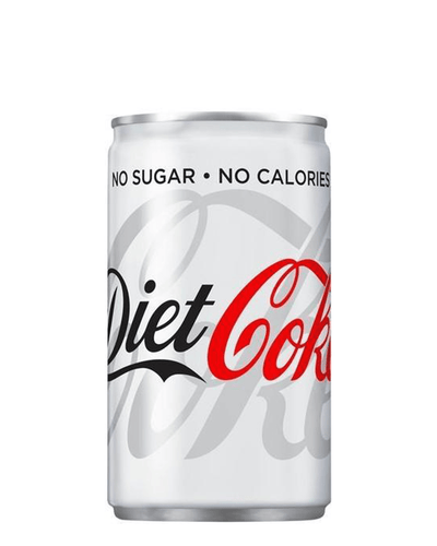 Image: Diet Coca-Cola Can, 150 ml