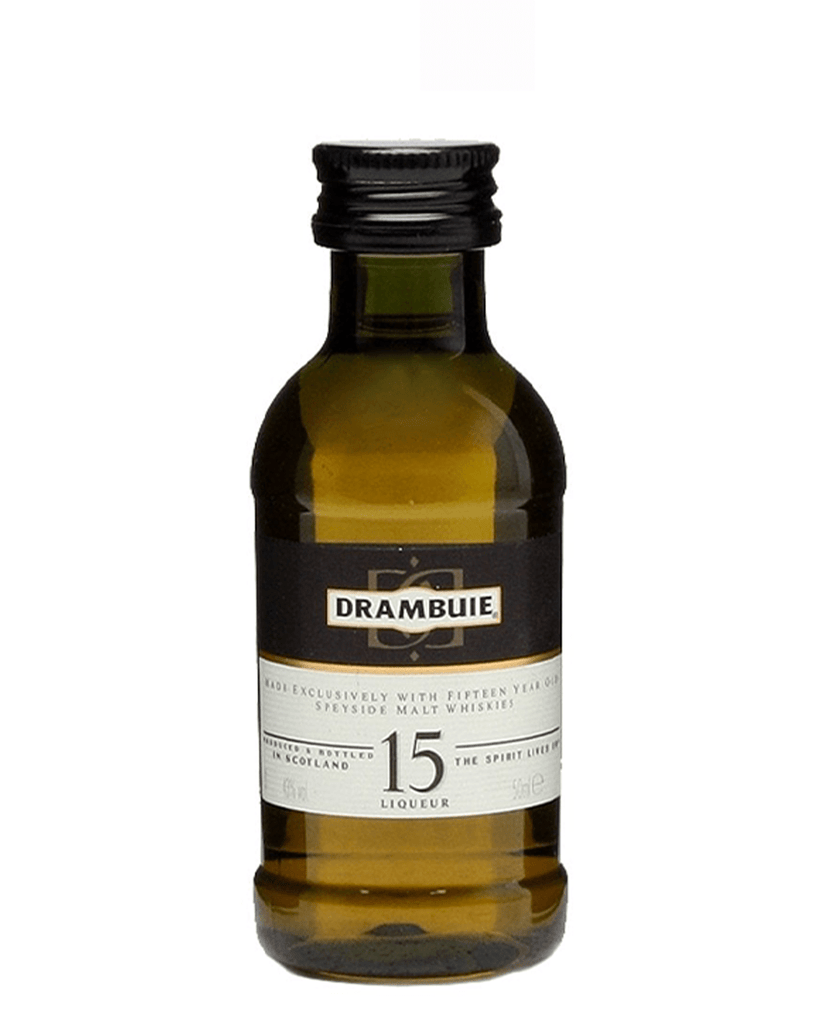 Drambuie 15 Year Old Scotch Whisky Liqueur, 5cl Miniature