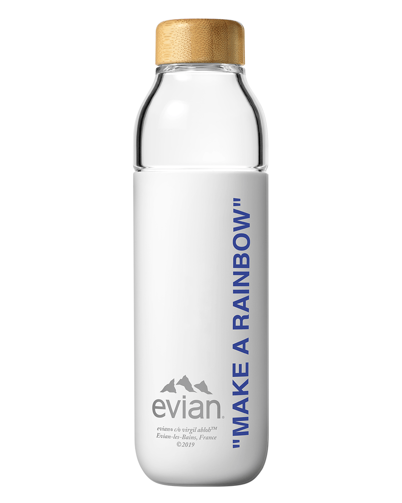 Evian x Soma Water Bottle - Bold Blue | Virgil Abloh, 500 ml