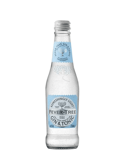 Image: Fever-Tree Refreshingly Light Gin & Tonic Multipack, 12 x 275 ml