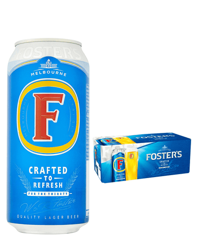 Shop Foster's Premium Australian Lager Multipack, 24 x 440 ml at The Bottle Club