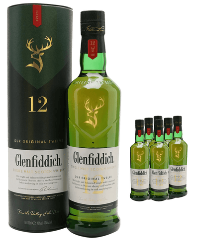 Image: Glenfiddich 12 Year Old Single Malt Scotch Whisky (Case of 6 x 70 cl Bottles)