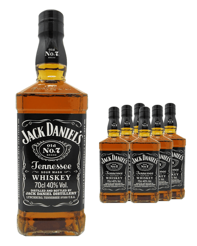 Image: Jack Daniel's Whiskey (Case of 6 x 70 cl Bottles)