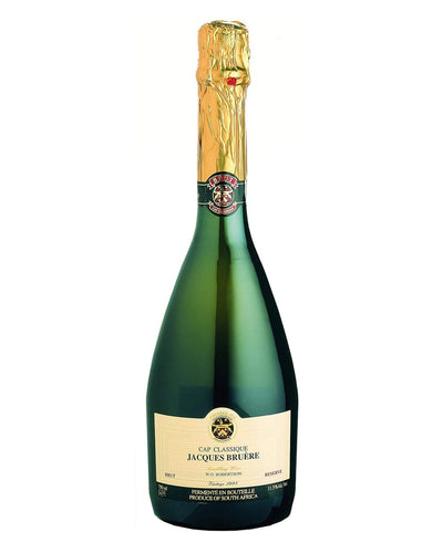 Shop Jacques Bruere Cap Classique Brut Reserve, 75 cl at The Bottle Club