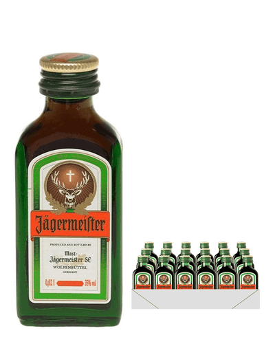 Image: Jagermeister, 24 x 2 cl Miniature Pack