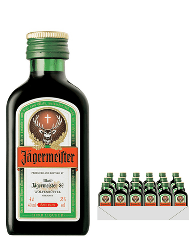 Image: Jagermeister, 24 x 4 cl Miniature Pack