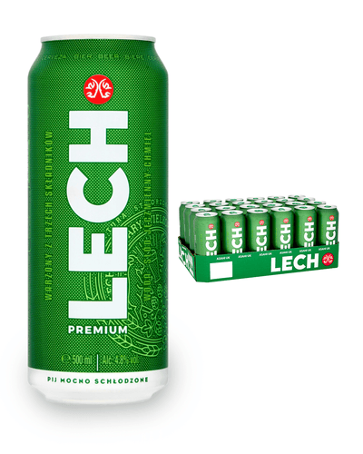 Image: Lech Premium Lager Multipack, 24 x 500 ml