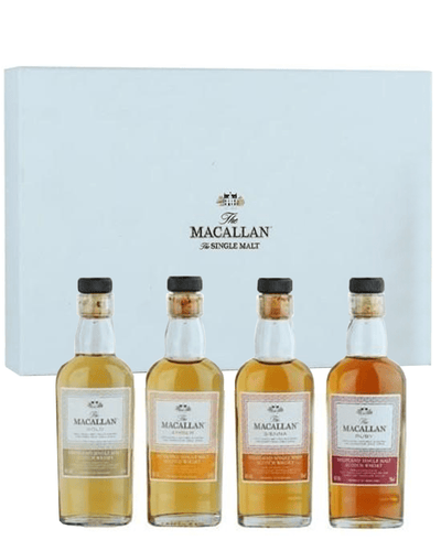 Image: Macallan 1824 Series Miniatures, 4 x 5 cl