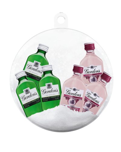 Image: PRE-ORDER Merry Baubles - Gordon's Mixed Gin Deluxe Bauble