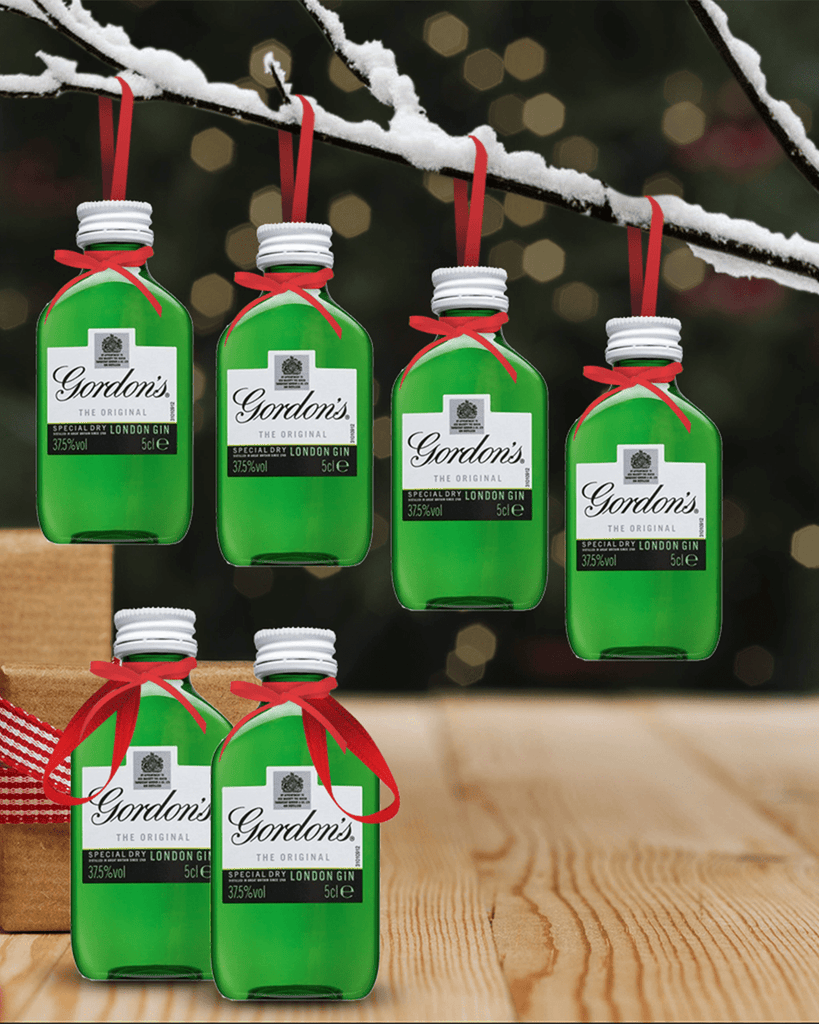 Merry Baubles - Gordon's Original Gin Miniature Set