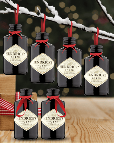 Image: Merry Baubles - Hendrick's Gin Miniature Set