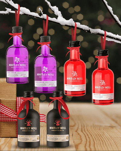 Image: PRE-ORDER Merry Baubles - Mixed Whitley Neill Gin Miniature Set
