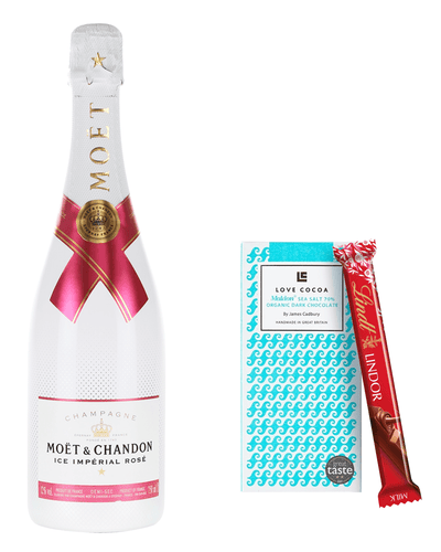 Image: Moët & Chandon Rosé Ice Impérial Gift Set