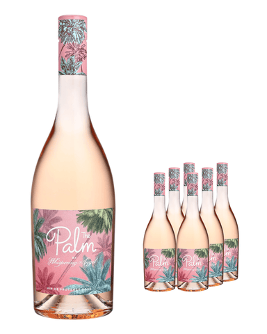 The Palm Rose by Whispering Angel (Case of 6 x 75 cl Bottles)