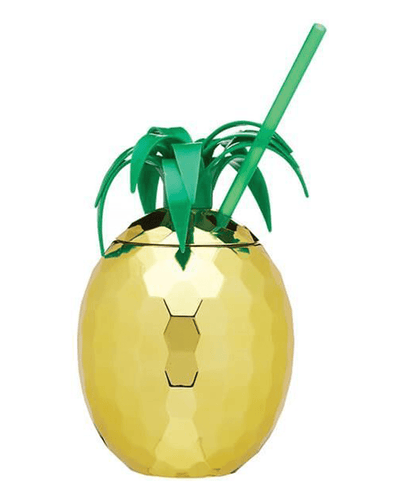 Image: BarCraft Pineapple Drinks Jar With Straw, 850 ml