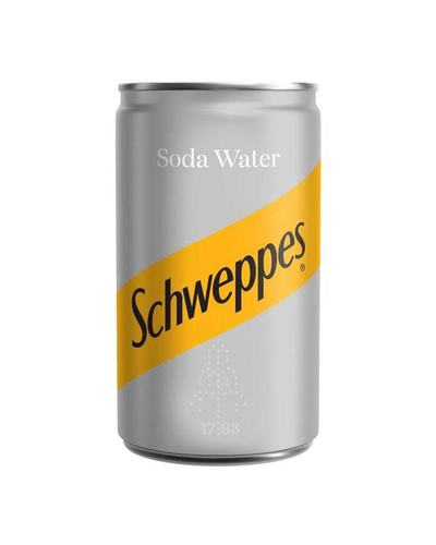 Image: Schweppes Soda Water, 24 x 150 ml Multipack BBE 30/09/2020