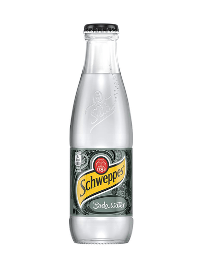 Image: Schweppes Soda Water, 24 x 200 ml Multipack