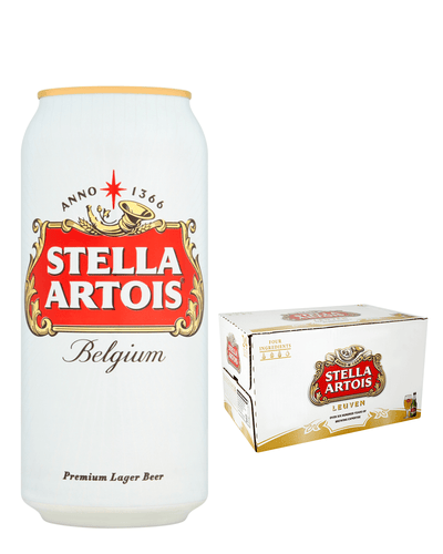 Shop Stella Artois Premium Lager Multipack, 24 x 500 ml at The Bottle Club