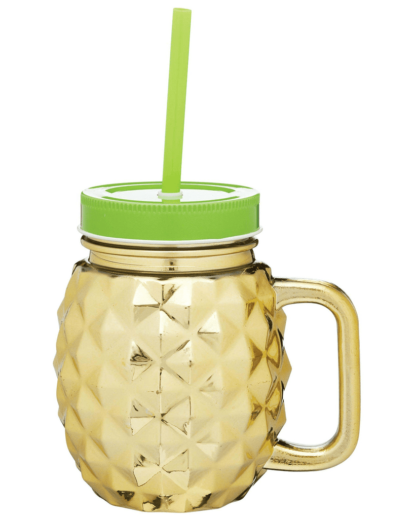 BarCraft Tropicana Gold Pineapple Drinks Jar