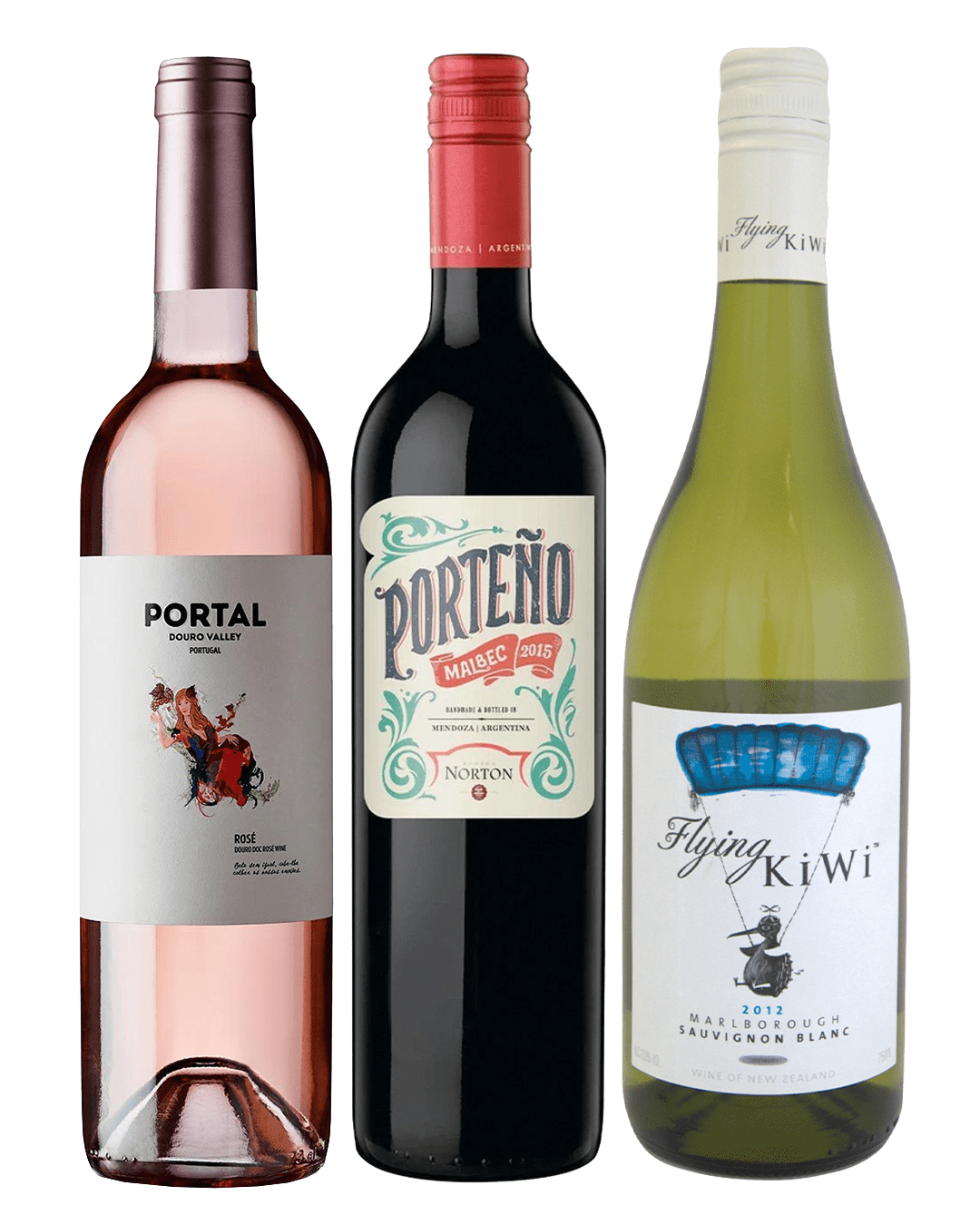 3 for £35 Wine Selection, 3 x 75 cl