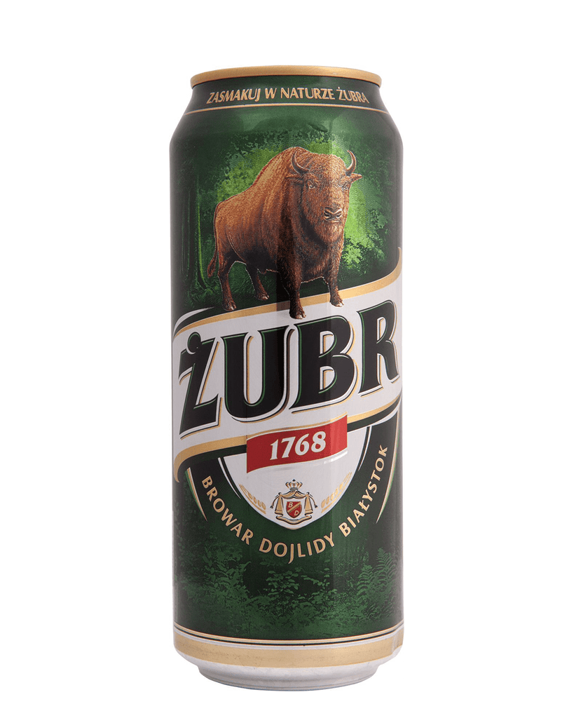 Zubr Polish Lager Multipack, 24 x 500 ml