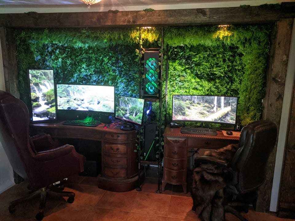 Top 10 Home office setups on Twitter: August 2021
