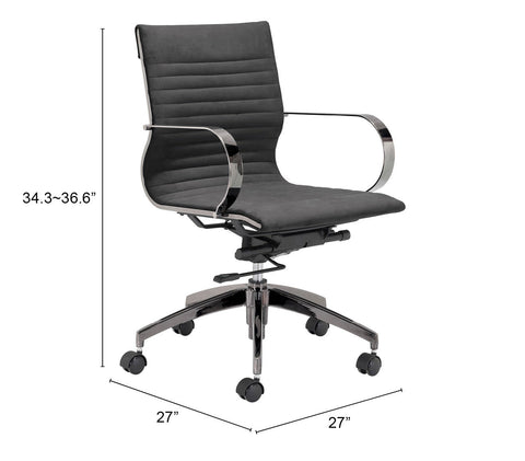 Ambition Low Back Office Chair Black