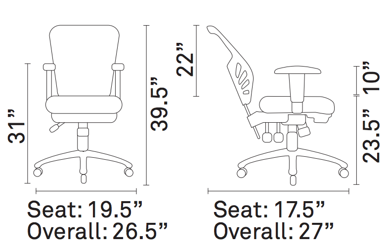 growrk home office chair