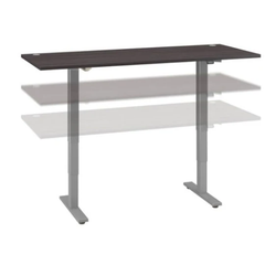 sit stand desk for creating a small home office