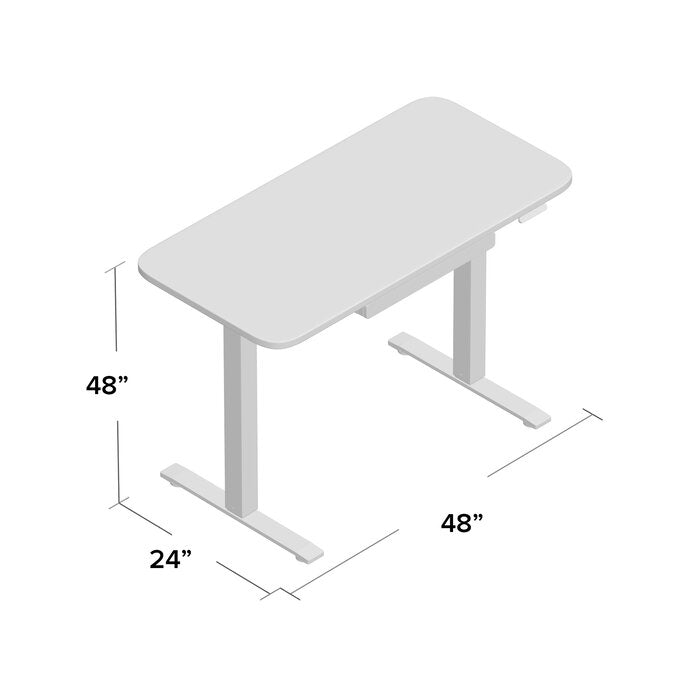 growrk sit-stand desk small