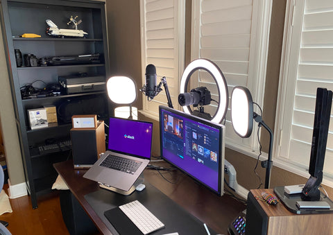 Home office A/V Setup
