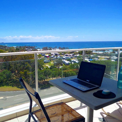 patio home office
