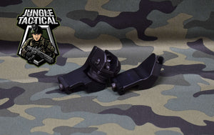 Angled metal sights