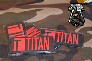 Titan Power velcro patch