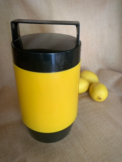 Retro Yellow Picnic Thermos