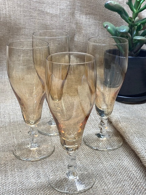 Vintage Mini Champagne Glasses