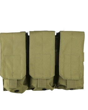 Triple Mag Pouch Velcro Style