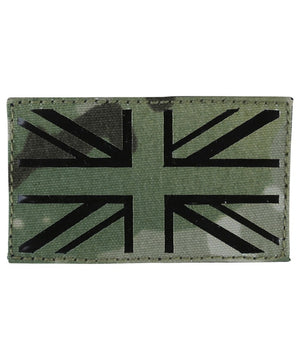 UK Flag Laser Cut Patch