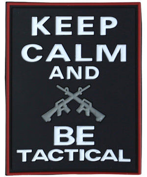 Tactical Patch - Keep Calm & Be Tactical