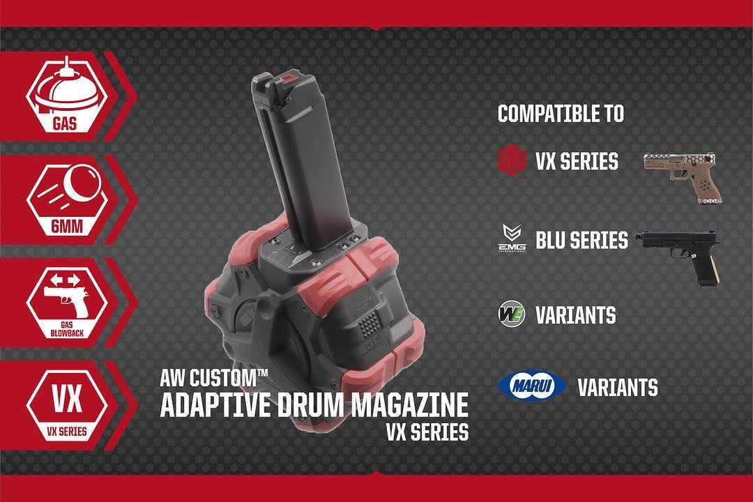 Armorer Works Custom Adaptive Drum Magazine