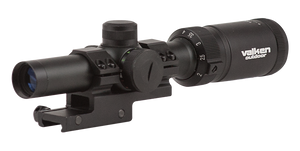 Valken Outdoor 1-4×20 w/Mount Mil-Dot Reticle Scope - Save £15