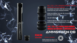 Ammotech FSC, T9.1, T8.1 Muzzle Threaded Barrel Tip