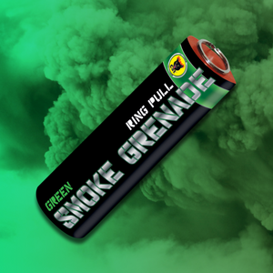 Ring Pull Smoke Grenades - Tri-Pack (Mixed Colours)